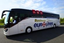 Автобус компании Eurolines